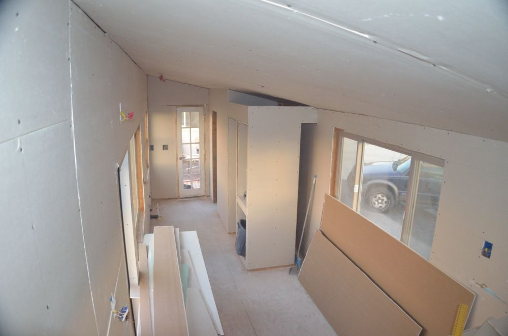 From the upper loft corner