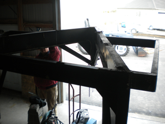 adding the welded loft area.
