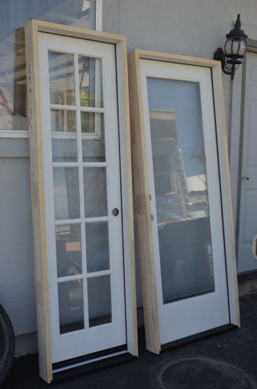 and I got those doors professionally hung, I have heard that part stinks to do yourself!