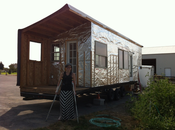and then I got to be in a big fancy article by Laura LaVoie on how NOT to hurt yourself building a tiny house, I will never understand why so many people wanted to talk to me of all people about safety... I am clearly NOT the right candidate for that... :)