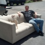 I found the perfect couch on Craigslist that will be recovered... eventually