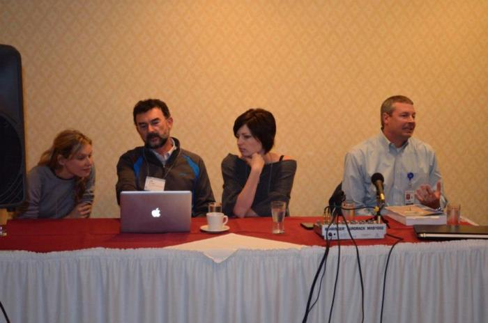 And we got to be on a city panel with important people and talk about tiny houses, at a planning level!