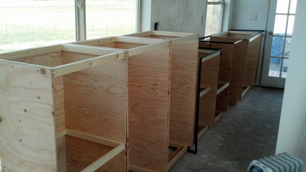 not a bad amount of storage for a tiny house, eh? ;)