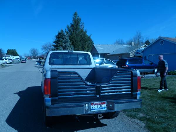 1993 Ford F-250 PU 4X4 - $3100 -already has a goose-neck hitch