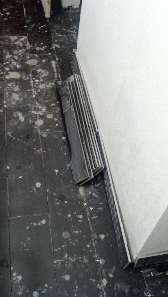 Bathroom trim boards