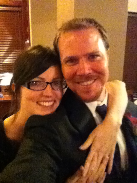 And then I had a pretty great time with this handsome fella who was a groomsman in a wedding this weekend.  I met a lot of really great people and had a great time, cheers to all and a happy life to the bride and groom!