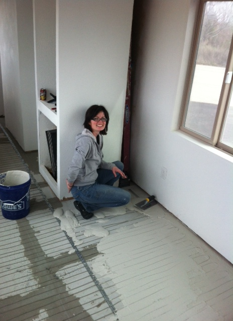 He told me to cover my butt crack... I am a plumbers daughter, I come by it naturally :)