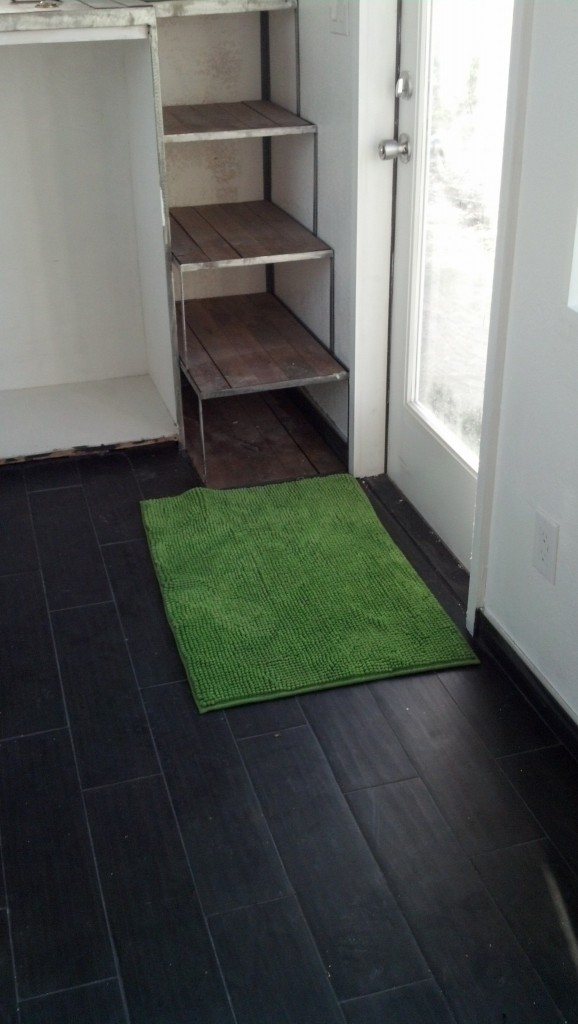 I also grabbed a rug for in front of my kitchen sink, and some king size sheets for my bed!