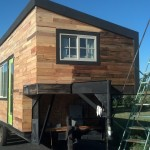 however it seemed MUCH darker on the house, I fear I have ruined my tiny house :/  Booo