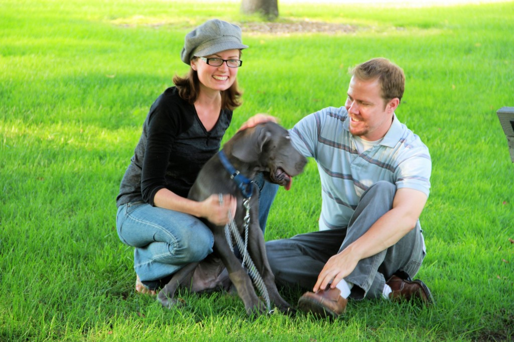 And, completely unrelated, James and I went to the park with Denny last night and the Boise Police Patrol cart came by and we met a very nice gentleman who wanted to take our picture.  Mostly because Denny is so handsome, he's hared to resist ;).  I guess they sometimes put these on the city website and marketing stuff, so maybe we will be famous! ;-)