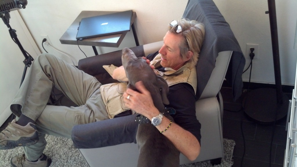 He also happened to bond with Denny, Denny was such a rockstar the whole day, he was a really good boy!