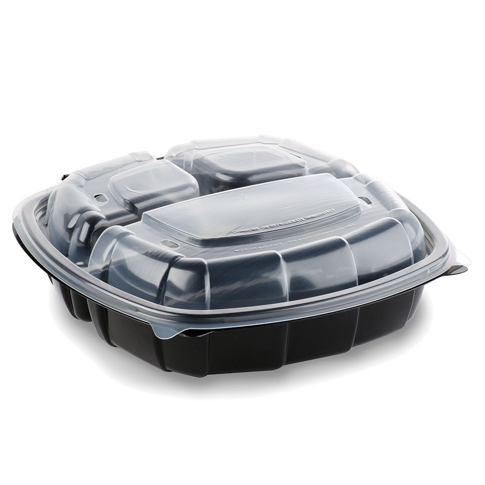 9-x-9-x-3-medium-3-compartment-microwaveable-plastic-hinged-take-out-container-112-case
