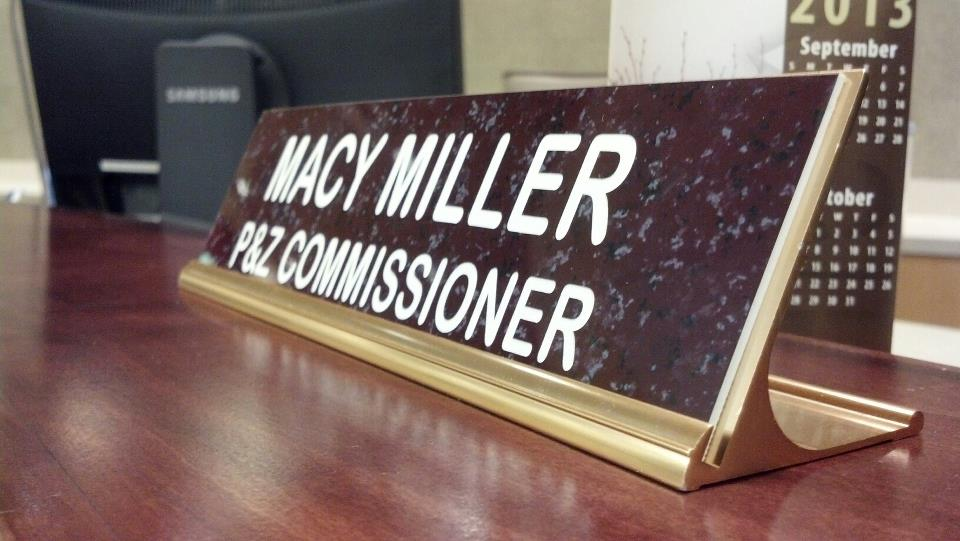 Early on in the year I was selected to joing the Planning and Zoning Commission, I have learned so much and feel great to make an impact on my community!
