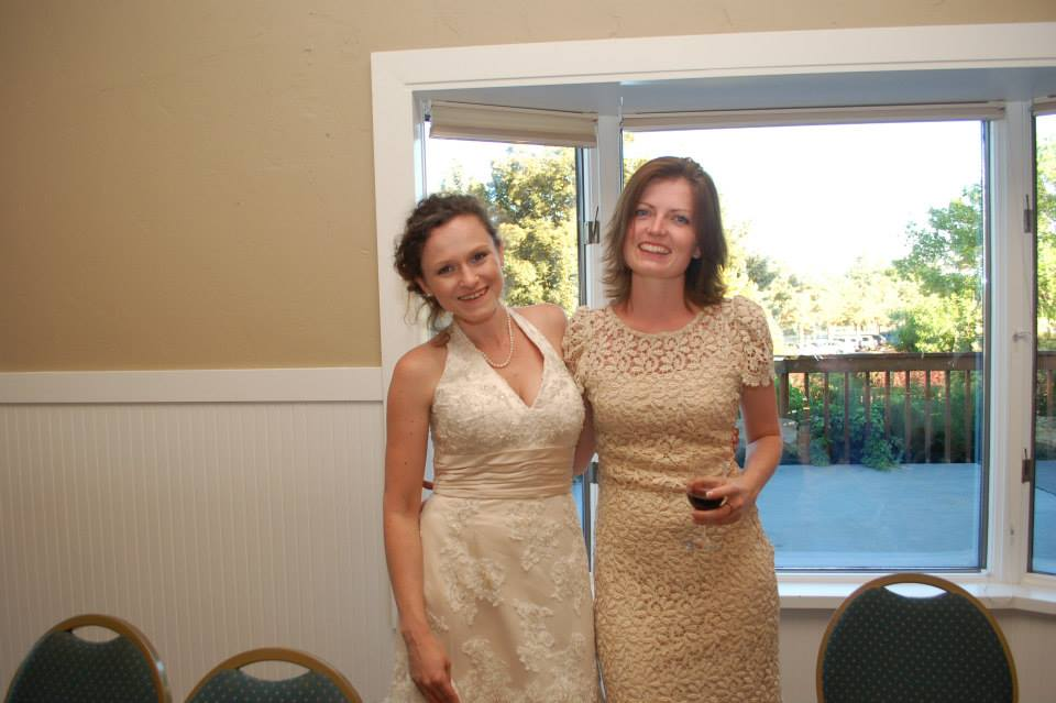 And of course the beautiful Lacy got hitched and I got to be in the wedding!