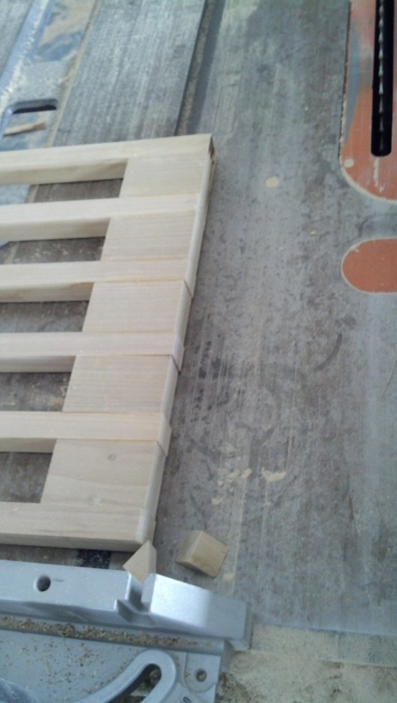 In either case, I have three side rails made for the co-sleeper, they need sanded down and finished with non-toxic tung oil