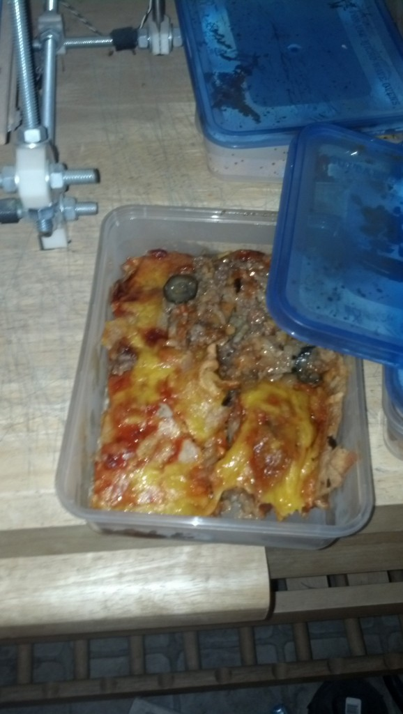 While that fried I was able to package all the enchiladas