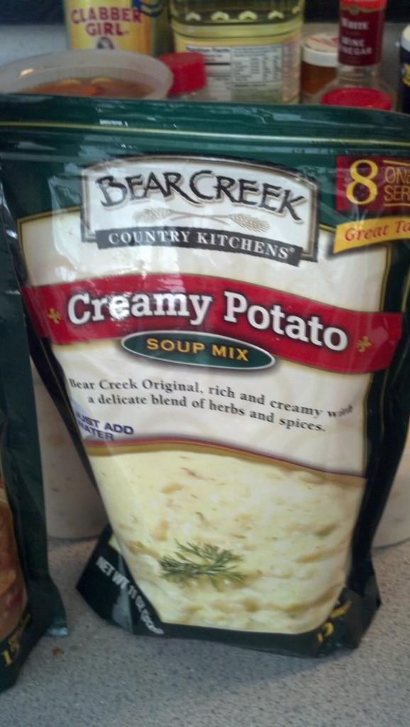 On to round two of soups, Creamy Potato