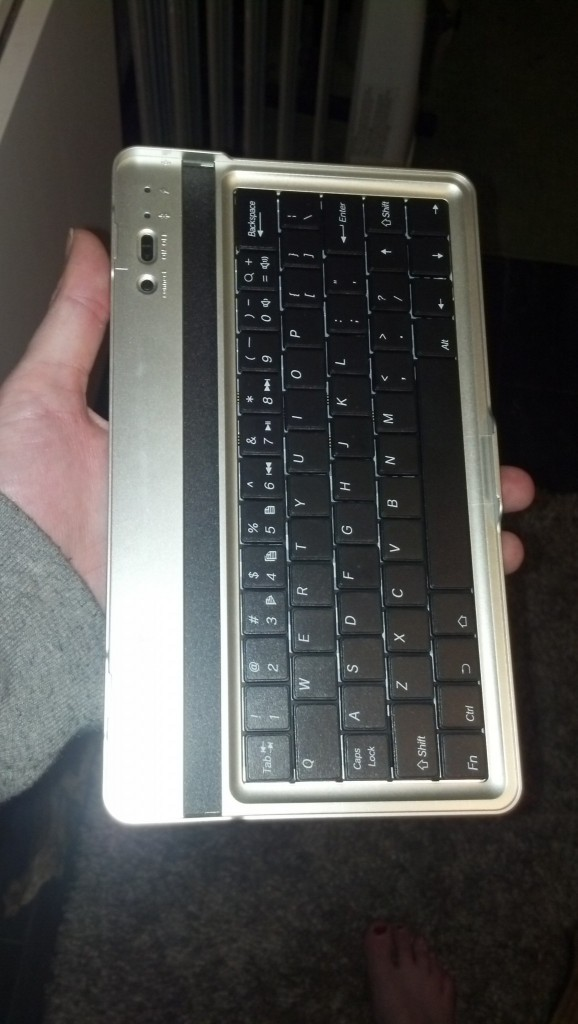 With  keyboard!