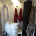 Even the throne!  The bathroom is huge and very usable.