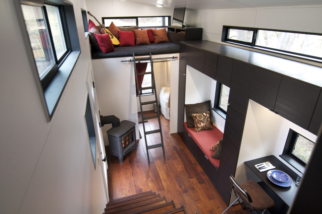 I love so much about this space, it seems SO big and comfy! I love the double loft space, it gives an extra level of comfy!
