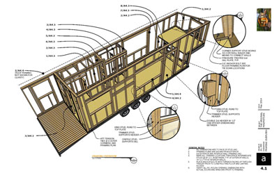 My plans minimotives for Tiny house trailer floor plans