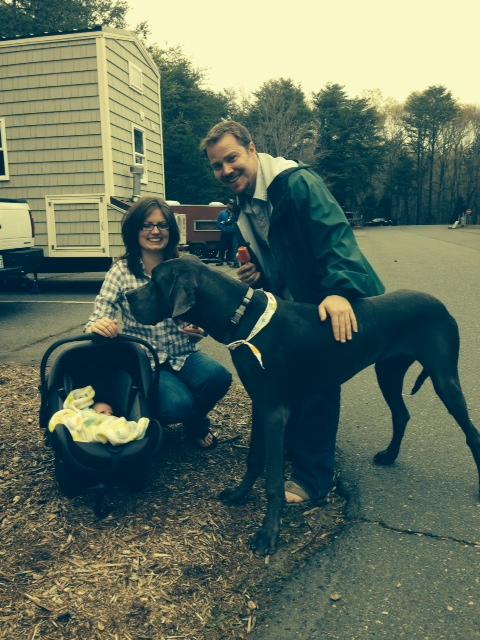 Family photo thanks to Teal at Wishbone tiny homes!!