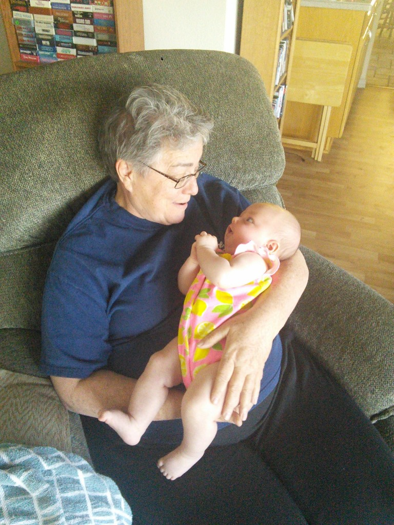 Getting some loves for Grandma Z