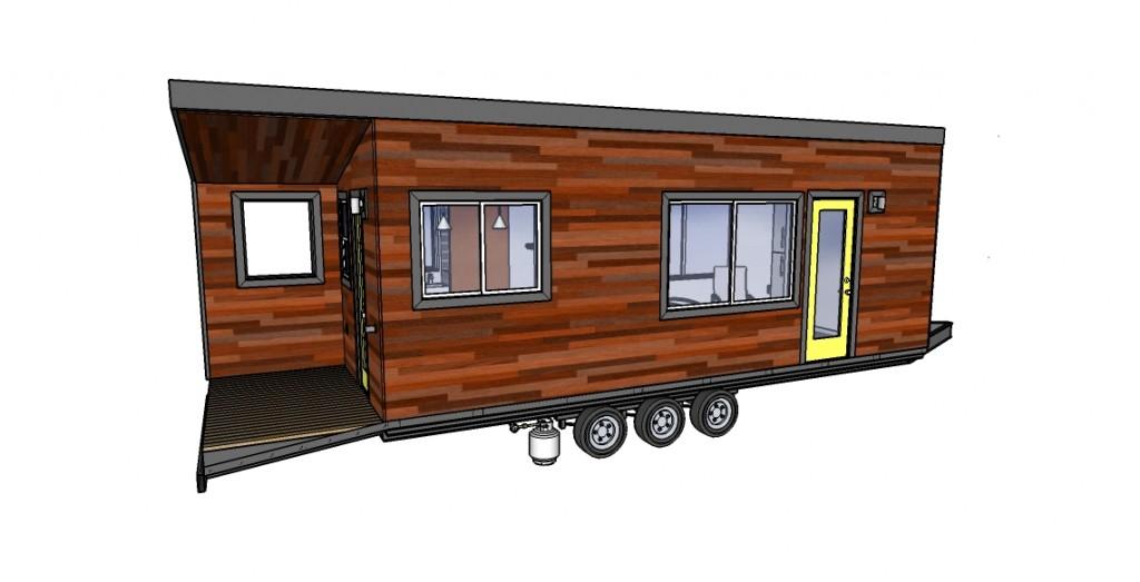 Tiny House Plan - Bumper Pull Ext