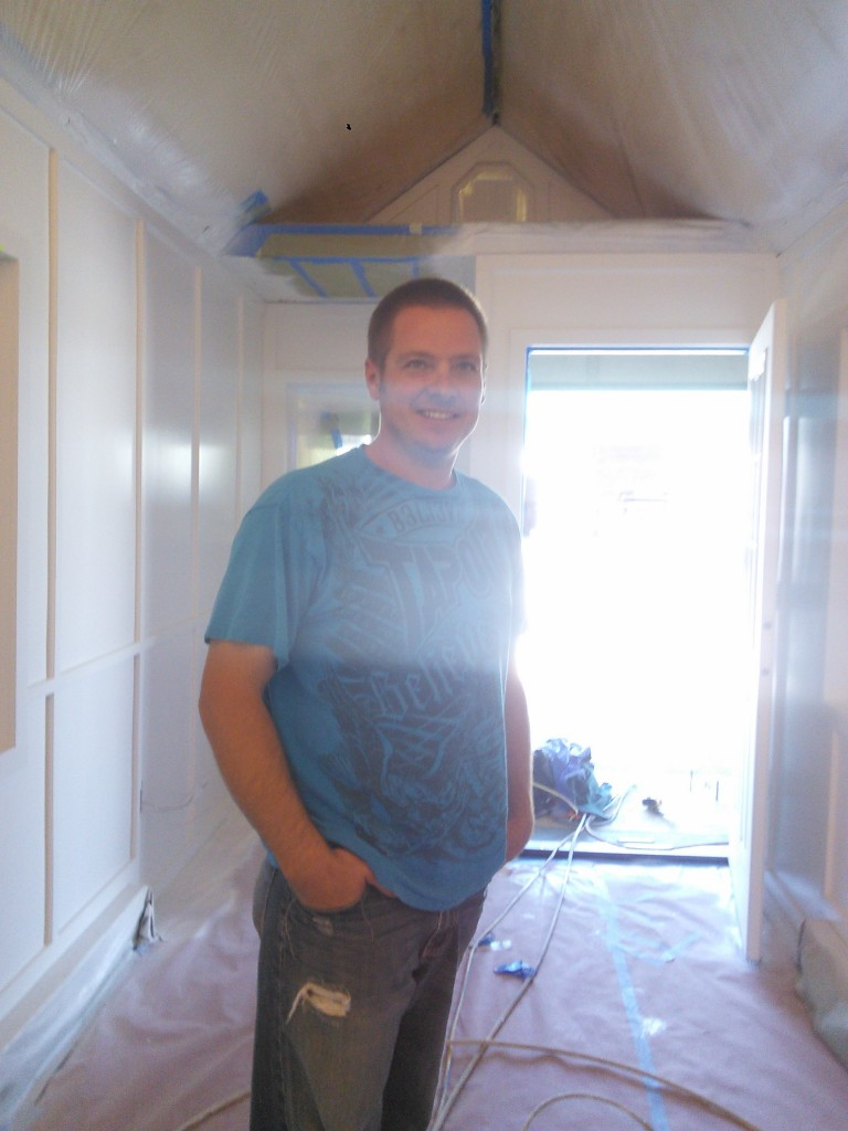 I also paid a little visit to Jesse from Tiny Idahomes who has several tiny house builds under his belt and two that are pretty much completed by this point I suspect