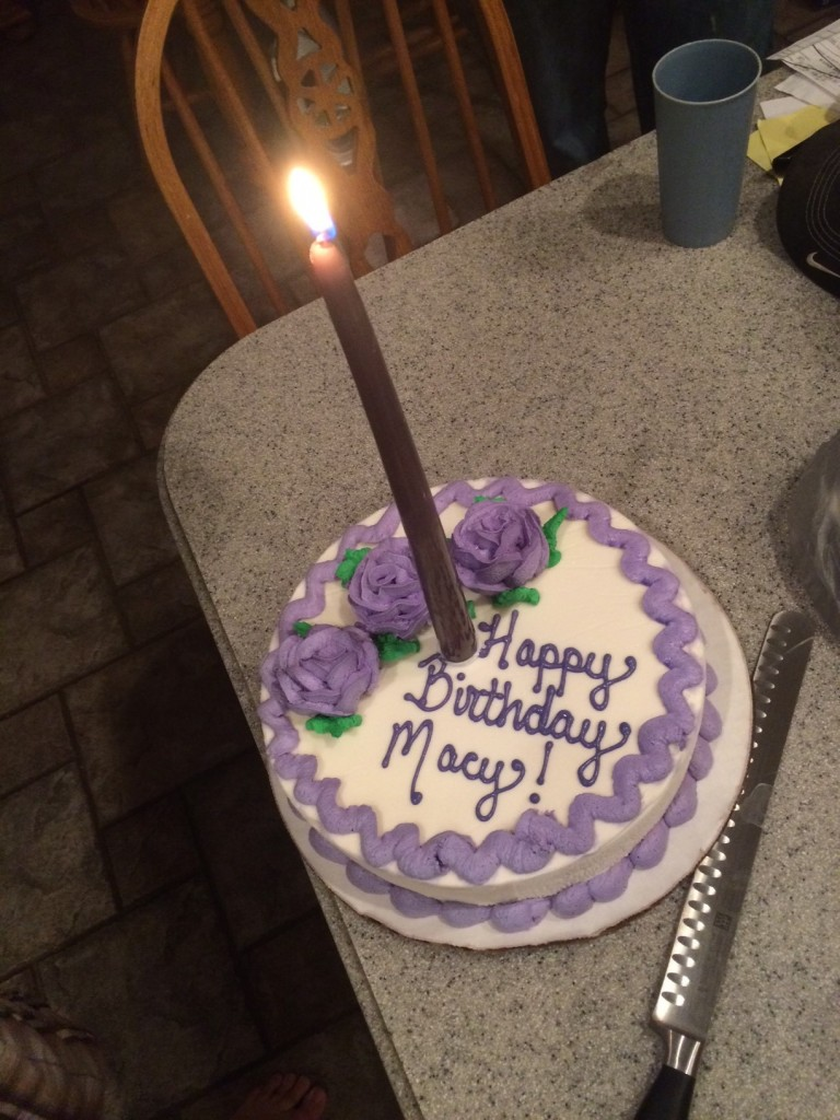 Oh, and I turned 31!  we couldnt find any candles though so I got to start over at 1 :)