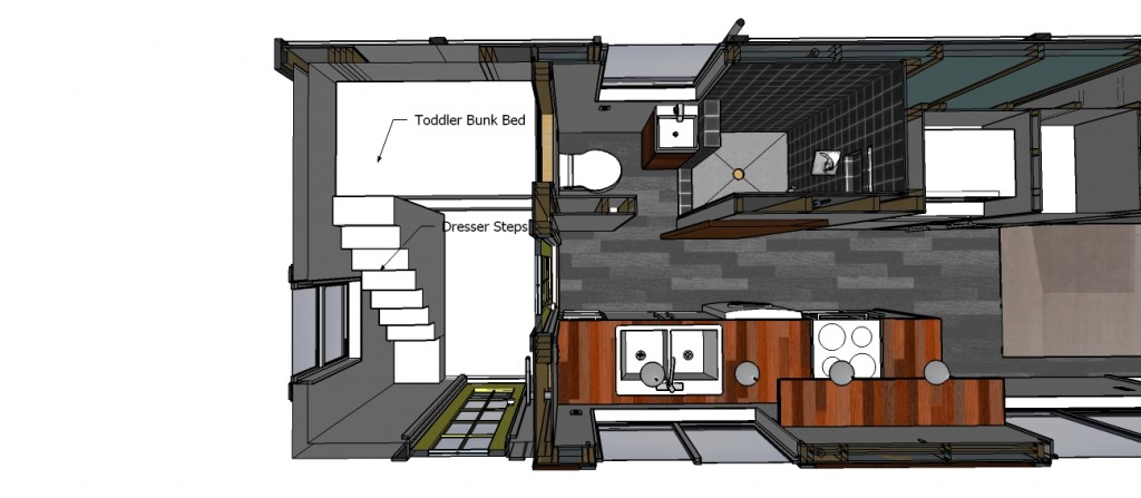 Tiny House Plan add opt 2