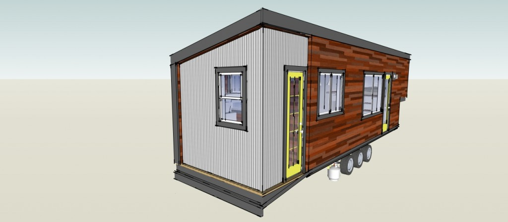 Tiny House Plan add opt 22
