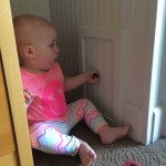 Ad her secret passageway in the hotel, she loved this little cubby