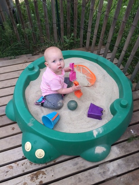 You cannot imagine how much fun this is for her, I try... she will spend hours there if I let her....