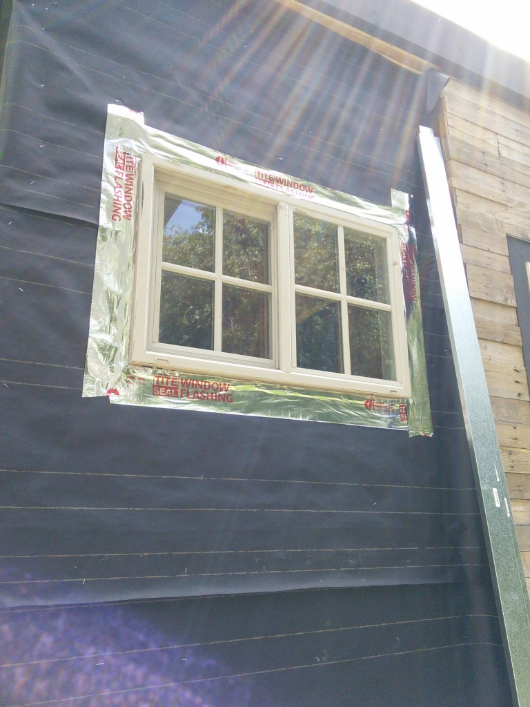 Window, actually installed correctly!