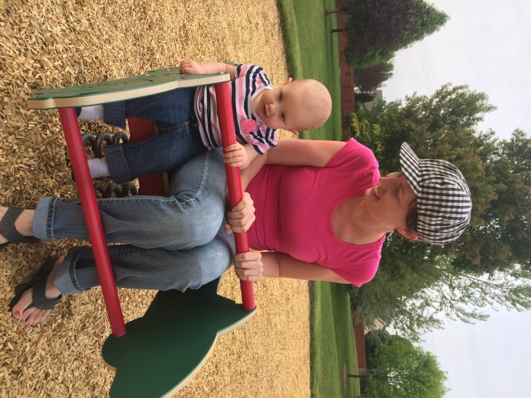 More fun at the park!