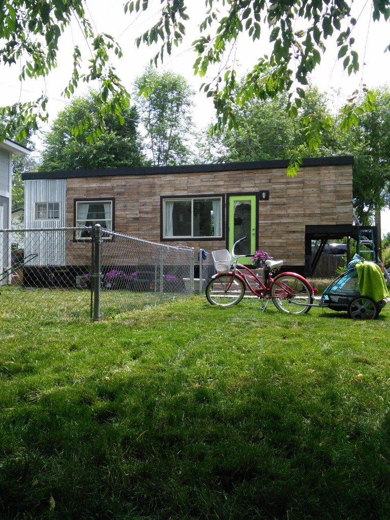Macy Miller tiny house renovation