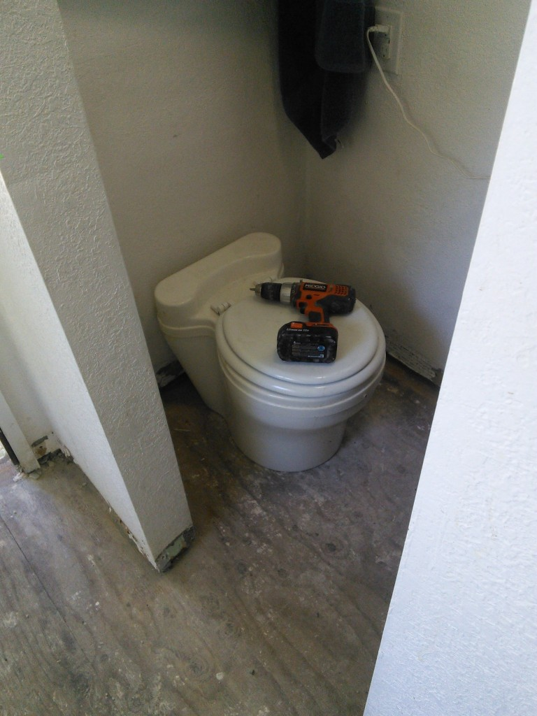 potty back in use!