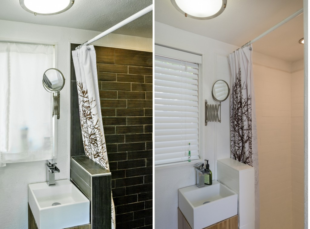 Before and After : Shower