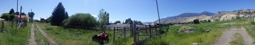 A pano of part of grandpas farm.  I love it here!