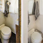 Before and After : Potty (notice the new mirror/medicine cabinet!)