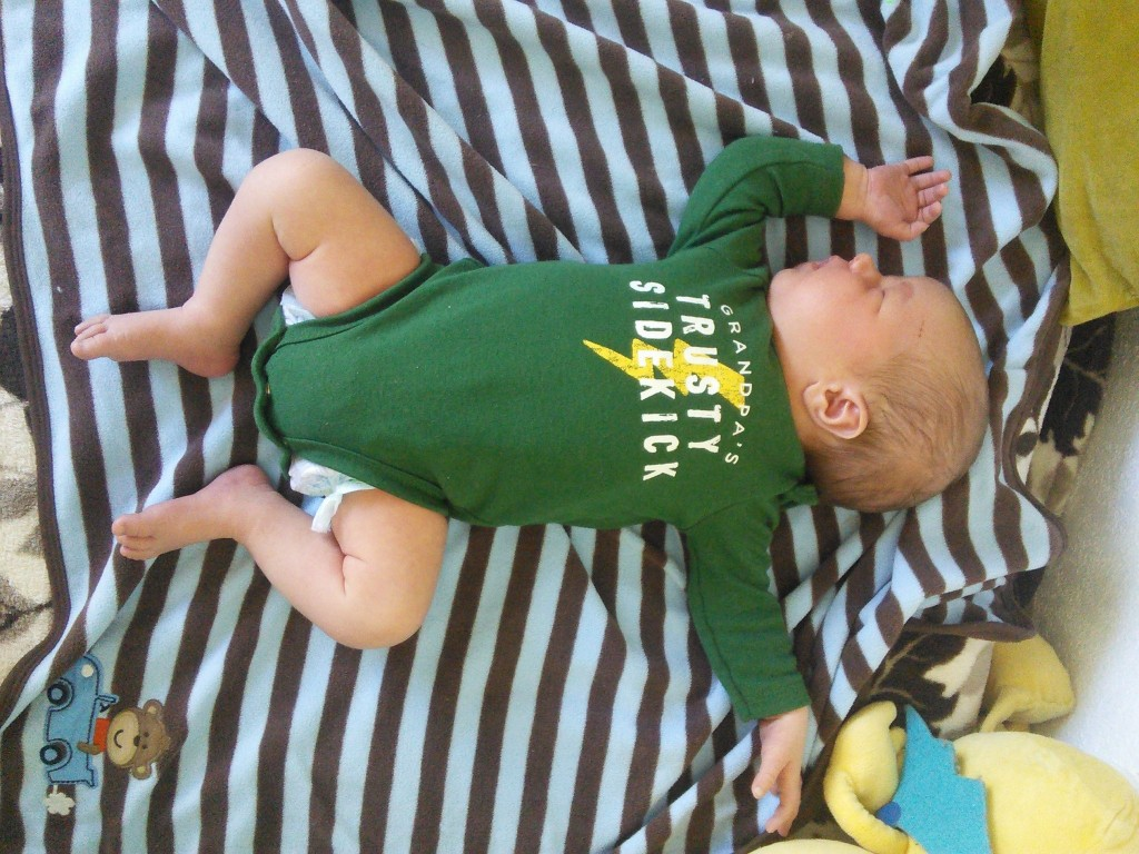 one of my favorite baby positions
