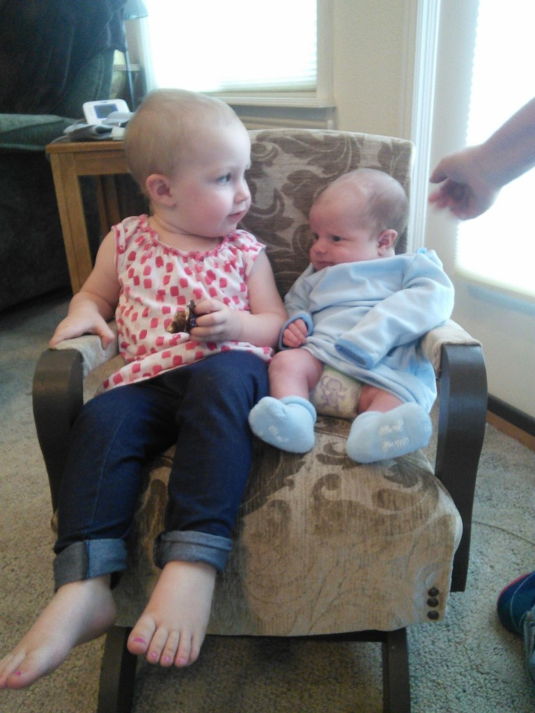 they can share the rocking chair that used to be their grandmas :)