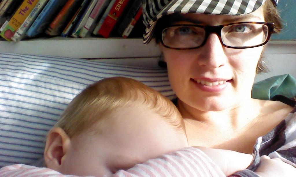 magic hour (when both are asleep!