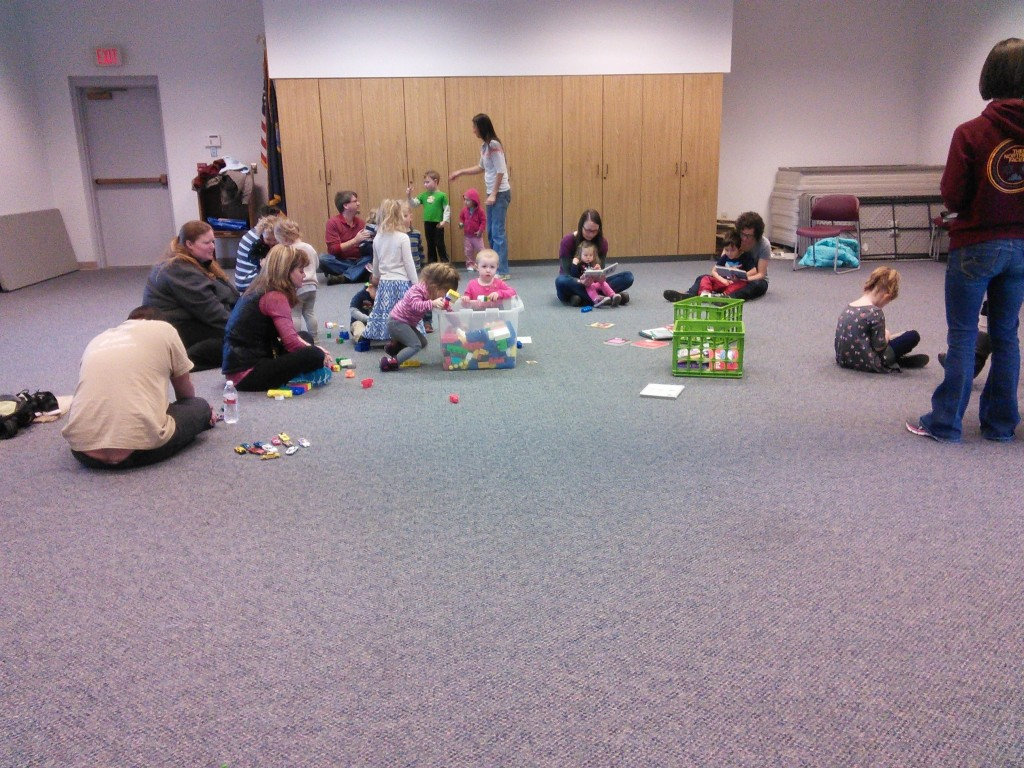 one of ourr story time classes