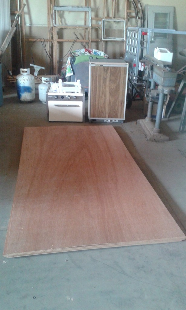 We also got our mahogany plywood ordered and shipped, this will be the inside finish.