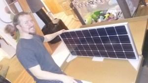 100 w solar