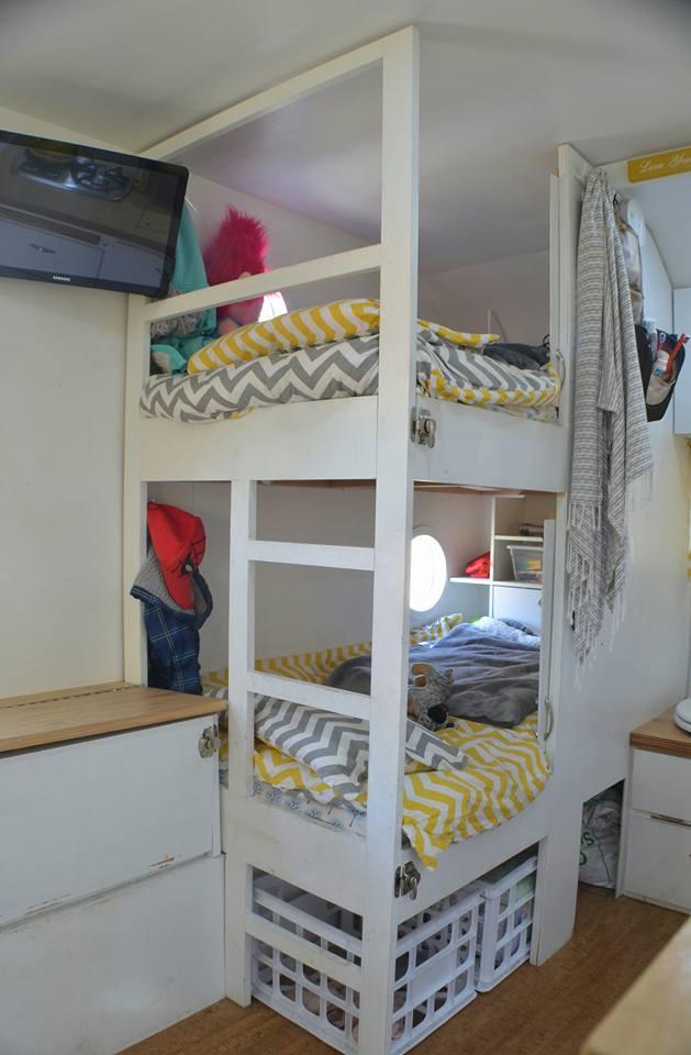 extendable bunk beds