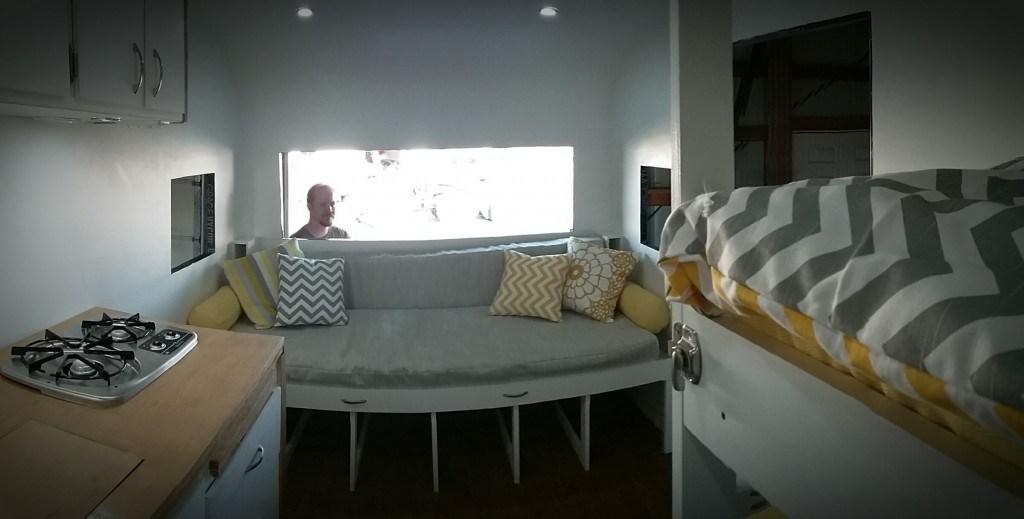 setting up bedding