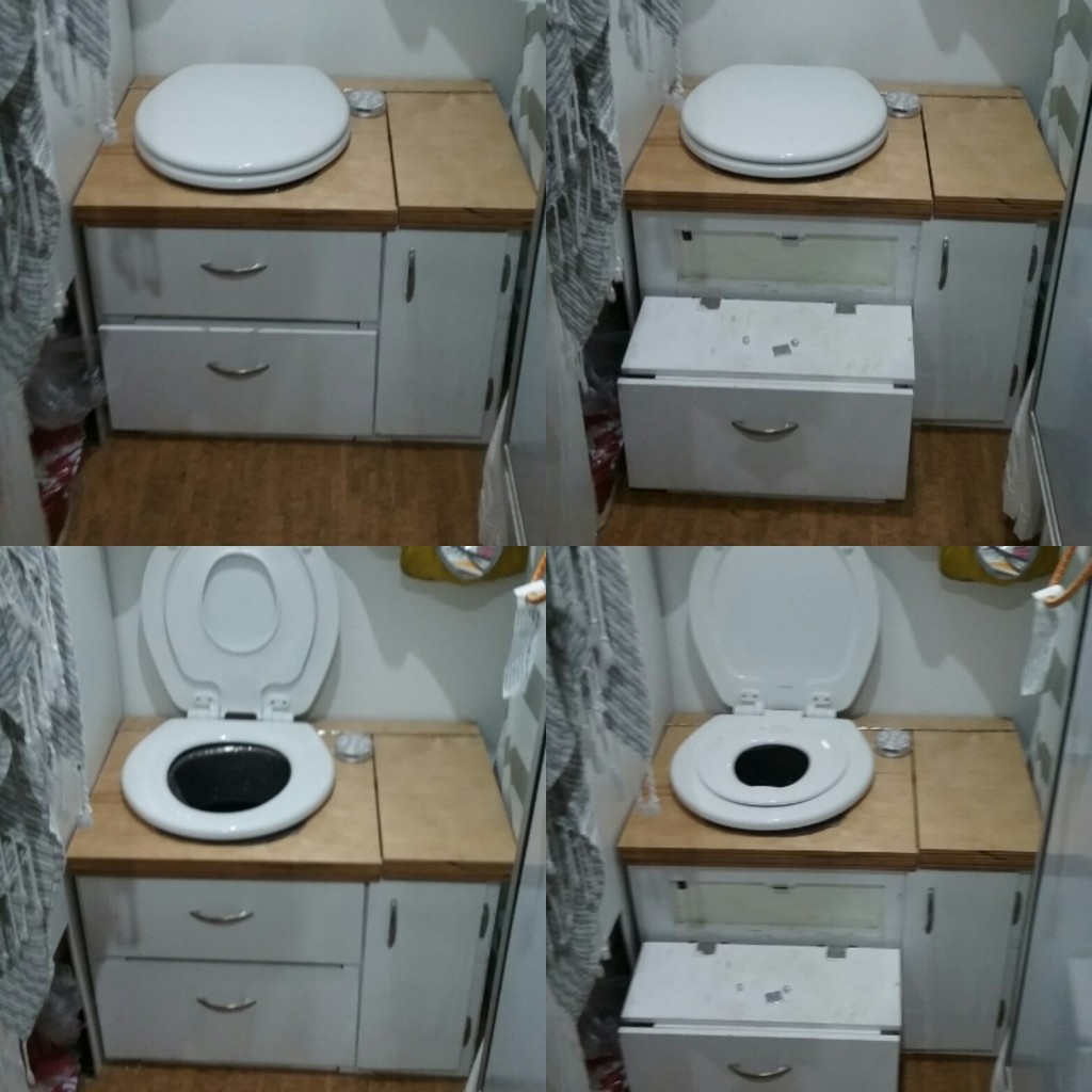 integrated step design for potty trainers